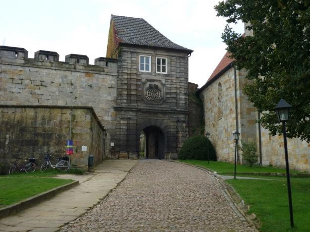 Bad Bentheim Castle Main Door