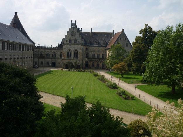 Bentheim Castle Court Yard
