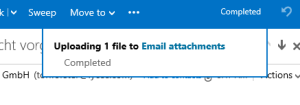Malicious Mail Save to OneDrive