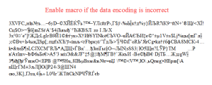 Dridex malware requests to lower macor security