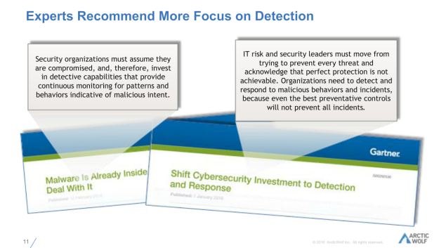 Experts recommend more focus on detecttion