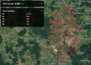 vSphere Client-Systeme in Region Kassel